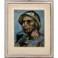 miner portrait by josef presser