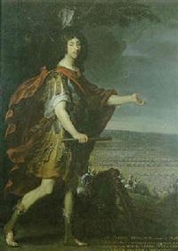 portrait du grand condé by louis ferdinand elle the elder