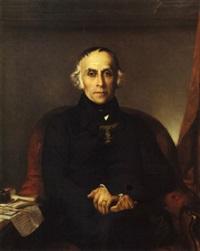 portrait de françois guizot by victor louis mottez