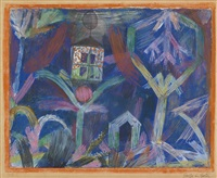 fenster im garten (window in the garden) by paul klee