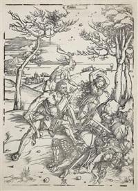 hercule conquérant cacus. (hollstein, meder 238; bartch 127) by albrecht dürer