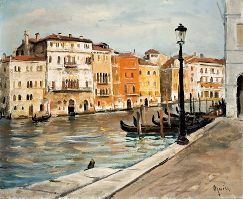 canal a venise by takanori oguiss
