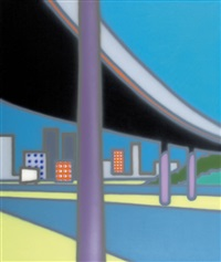 third overpass by howard arkley