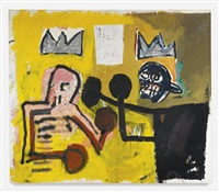 world crown by jean-michel basquiat