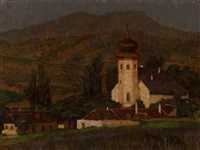 an austrian village by hedwig wollner-beuk