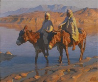 crossing the wadi by adam styka