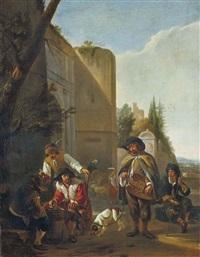 le joueur de vielle by hendrick verschuring