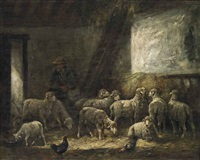 feeding time by charles jacques