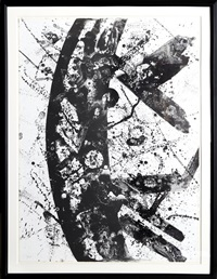 untitled (sf-196) by sam francis