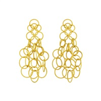 gold hawaii earrings (pair) by buccellati
