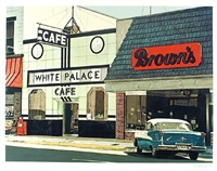 white palace cafe by john baeder