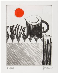 stone, jug and sun by mary fedden