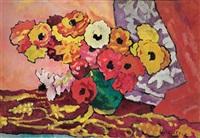 bouquet d'anémones by louis valtat