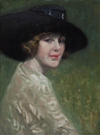 portrait of a lady by george raab
