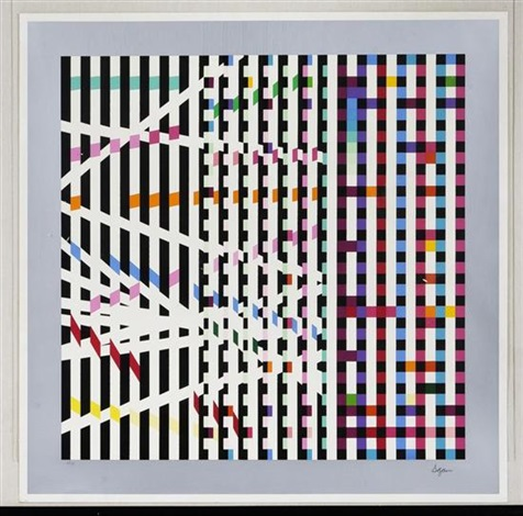 multi mag rhythm by yaacov agam