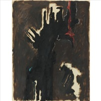 untitled (fear) by clyfford still