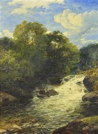 waterfall scene by john brandon smith