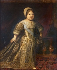 portrait en pied d'un jeune prince de la maison de france by french school (17)