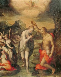 the baptism of christ by giovanni (il cosci) balducci