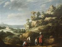abraham préparant le sacrifice d'isaac by claes cornelisz moeyaert