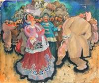 a jewish wedding by saul raskin