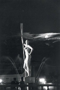 statue à moscou by mark markov-grinberg