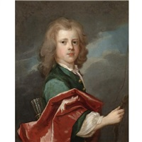 portrait of a young boy by charles d' agar
