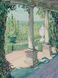 louis comfort tiffany's garden by jane peterson