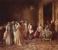 the debutante by george ogilvy reid