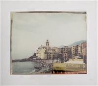 camogli, aus der serie viaggio in italia by maurizio galimberti
