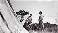 from the set of easy rider : three works (3 works) by george herms