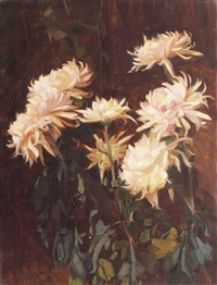 chrysanthemums by constantin artachino