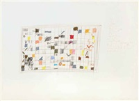 untitled (squares) by joan snyder