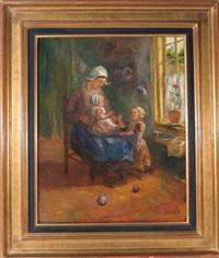 scène d'intérieur by cornelis koppenol