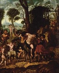 l'ivresse de bacchus by flemish school-liège (16)