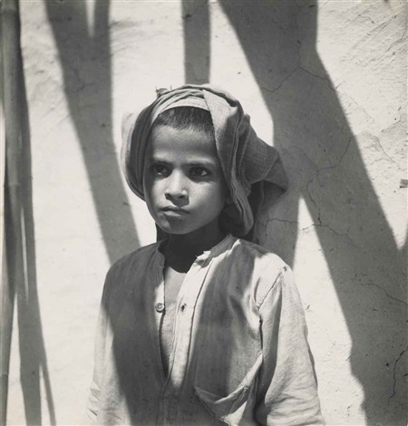 at a village school in india by cecil beaton