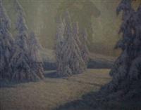 neige - les géants d'alsace by georges victor laurent dantu