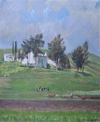 spring farm: tangier by maurice grosser