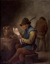 la lecture de la gazette by thomas van apshoven