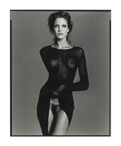 stephanie seymour model new york city may 9 by richard avedon