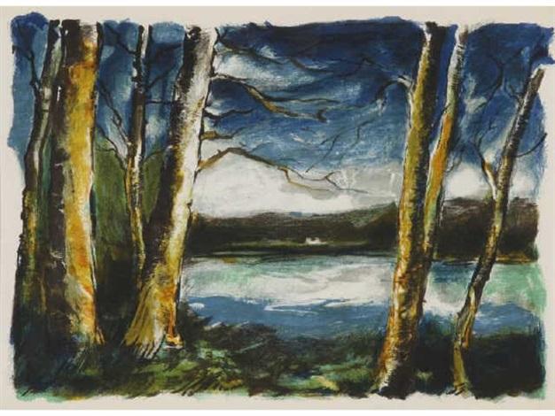 dans les bois by maurice de vlaminck
