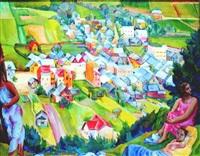 postaci na tle krajobrazu by maria ewa lunkiewicz-rogoyska