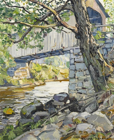 under the covered bridge by george gardner symons