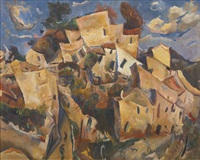 cagnes-sur-mer by william henry johnson