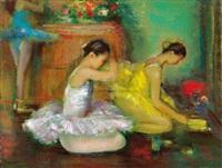 ballet dancers by shen che tsai