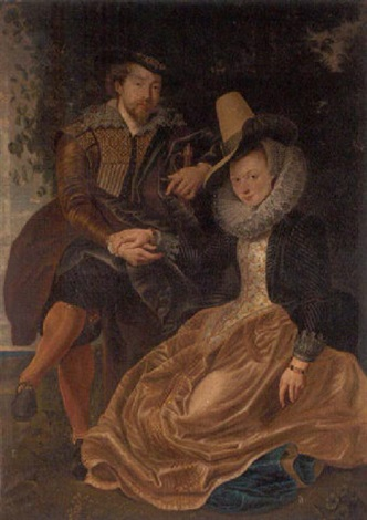 rubens and isabella brant in the honeysuckle bower by peter paul