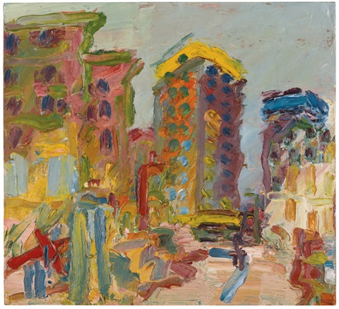 mornington crescent looking south ii by frank auerbach