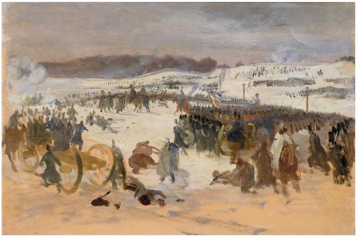 schlacht von oeversee by wilhelm thöny