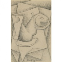 nature morte aux poires by jean metzinger
