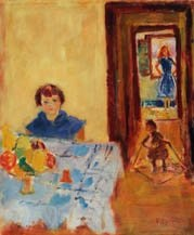 la fille de l'artiste by simon claude (vanier) abramovitsch